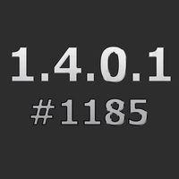 Патч для повышения с1.4.0.0 #1180 до 1.4.0.1 #1185