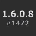 Патч для повышения с 1.6.0.8 #1467 до 1.6.0.8 #1472