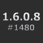 Патч для повышения с 1.6.0.8 #1472 до 1.6.0.8 #1480