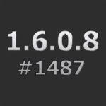 Патч для повышения с 1.6.0.8 #1482 до 1.6.0.8 #1487
