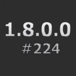 Патч для понижения с 1.8.0.1 #226 до 1.8.0.0 #224