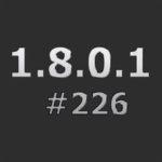 Патч для понижения с 1.8.0.1 #240 до 1.8.0.1 #226