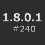 Патч для понижения с 1.8.0.2 #252 до 1.8.0.1 #240